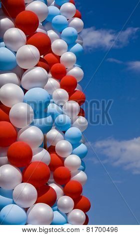 Air Balloons On Sky