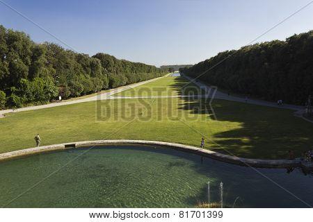 Caserta Palace Royal Garden