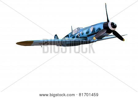 The military plane of times of Second World War Messerschmitt