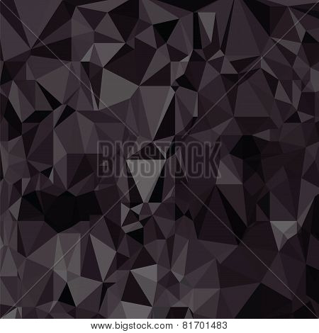 Black Mosaic Background