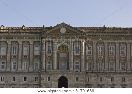Caserta Royal Palace, facade