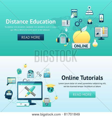 Online Education Design Concept