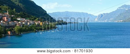 Lake Como (italy) Summer View.