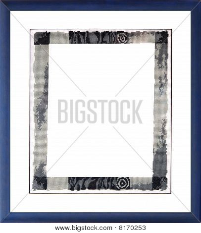 Unusual Photo Frame With Passe-partout