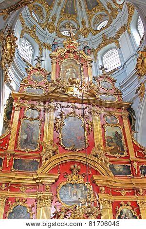 Inside Of Saint Andrew's Church, Kyiv, Ukraine