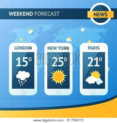 Weather Forecast Background