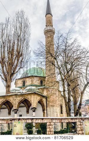 Mosque In Sarajevo,bosnia And Herzegovina