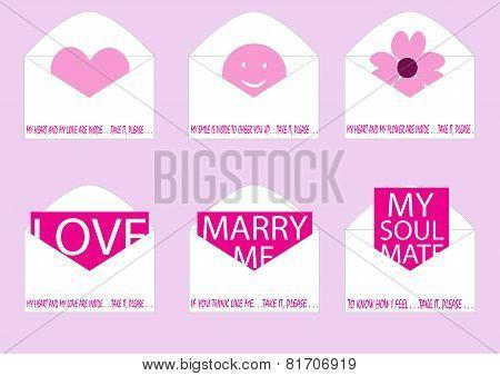 Loves Inside Envelope