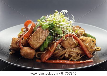 Chicken stirfry.