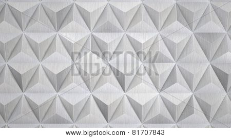 Modern Geometric Aluminum Background