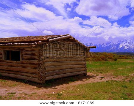Cabin in the Tetons