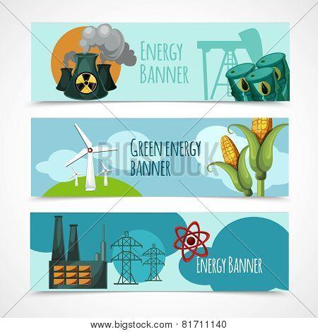 Energy Banner Set