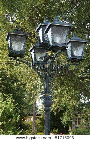 A street lantern