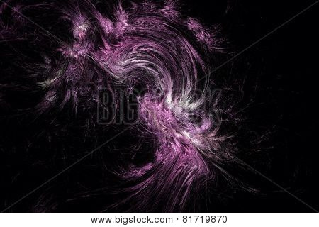 Abstract Scary Fractal Texture