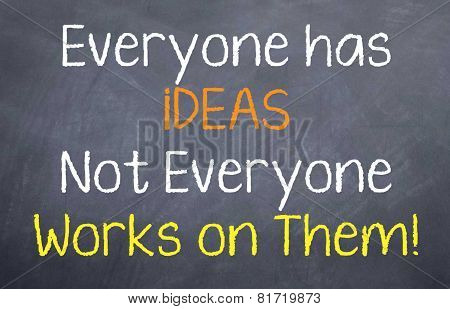Everyone has iDEAS..