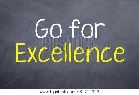 Go for Excellence