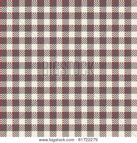 Checkered Tablecloths Pattern - Endless