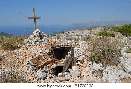 mount Srd Dubrovnik Croatia