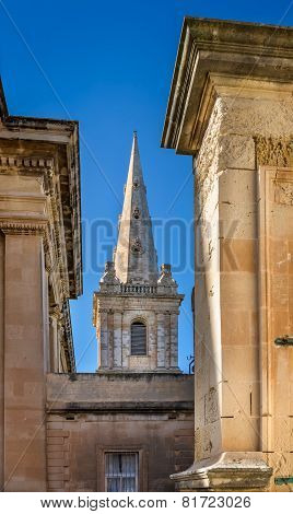 Saint Paul's Anglican Cathedral In Valletta, Malta