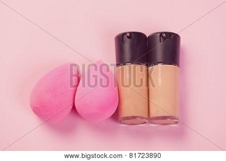 Pink Beauty Blenders