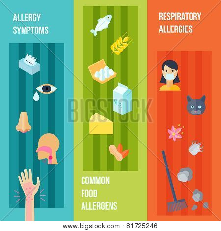 Allergy Banner Set