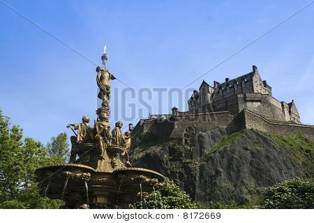 Castle Rock Edinburgh Scotland