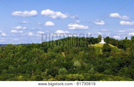 The Three Cross Hill In Vilnius
