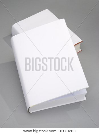 Two Blank Book Cover