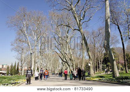 Gulhane Park, Istanbul, Turkey