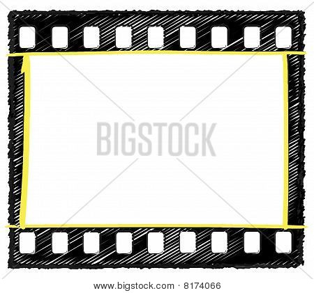 35Mm Frame Sketch Selection markup