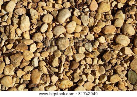 Yellow Stones In The Sun