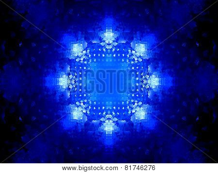 Blue Glowing Nanotechnology System
