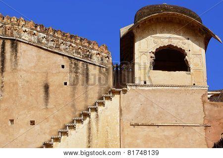 Ancient Ruins. Bundi Palace, India