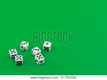 The Dices On Green.