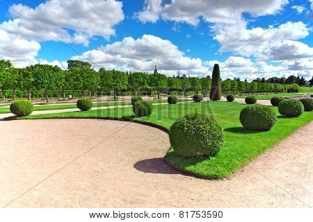 Upper Park In Pertergof, Saint-petersburg City ,  Russia