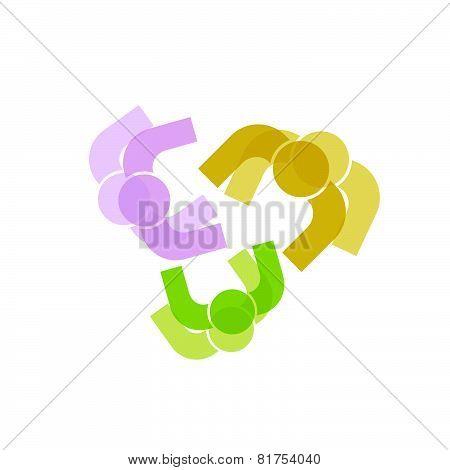 People Icon Color Vector