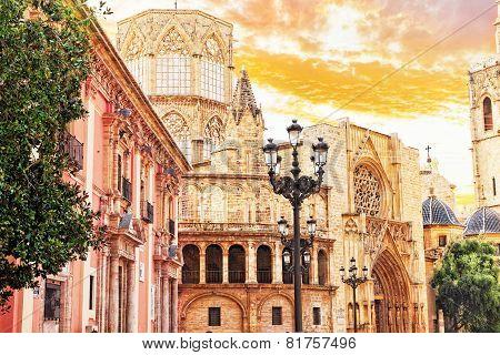 View of  Valencia , Spain, Catalonia.