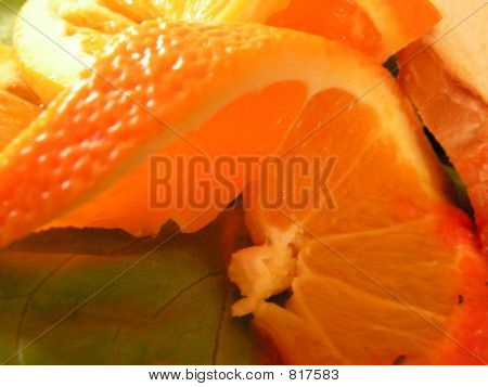Big slice of orange