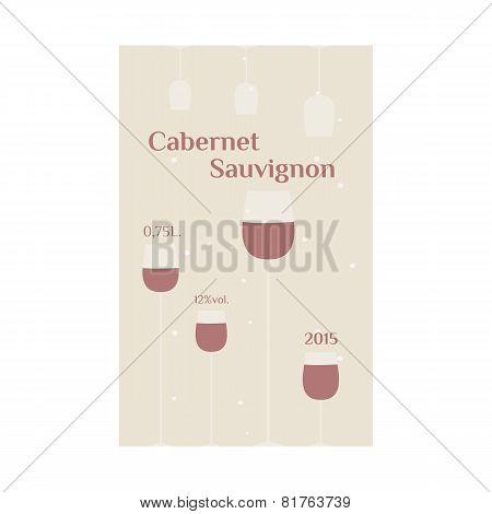 Cabernet Sauvignon Label