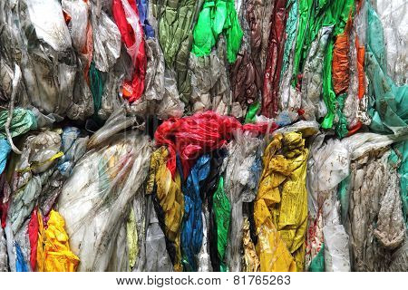 Color Plastic Recycle Background