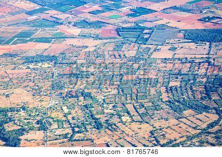 Mallorca Landscape Pattern