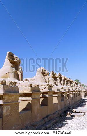 Karnak Temple Complex, Luxor, Egypt.