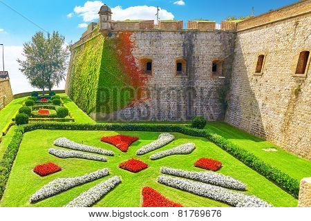 View of Castillo de Montjuic