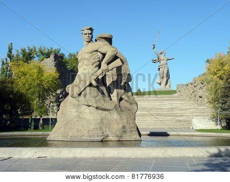 Volgograd, Mamayev Kurgan