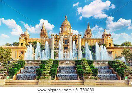 National Museum in Barcelona.