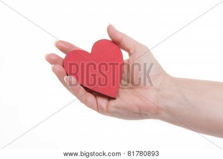 Holding Valentine