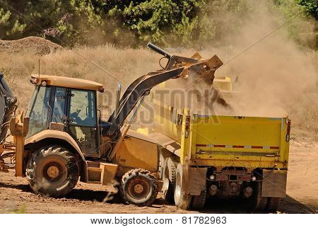 Backhoe Load