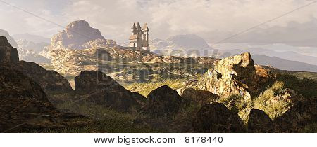 Celtic Highlands Landscape