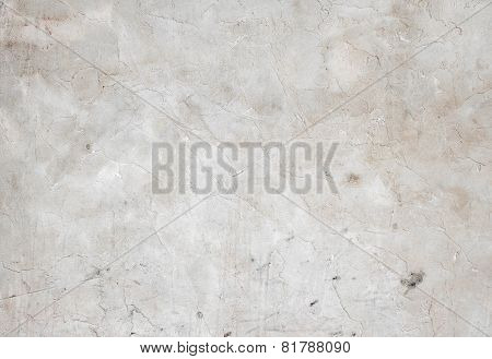 Concrete, Weathered, Worn, Painted White. Landscape Style. Grungy Concrete Surface. Great Background