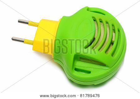 Green With Yellow Modern Fumigator